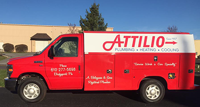 Attilio Plumbing, Heating and Air Conditioning Company Bridgeport PA
