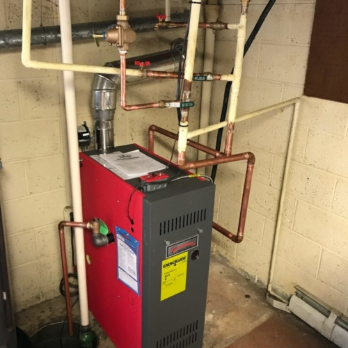 Steam Boiler Install in Bridgeport, PA